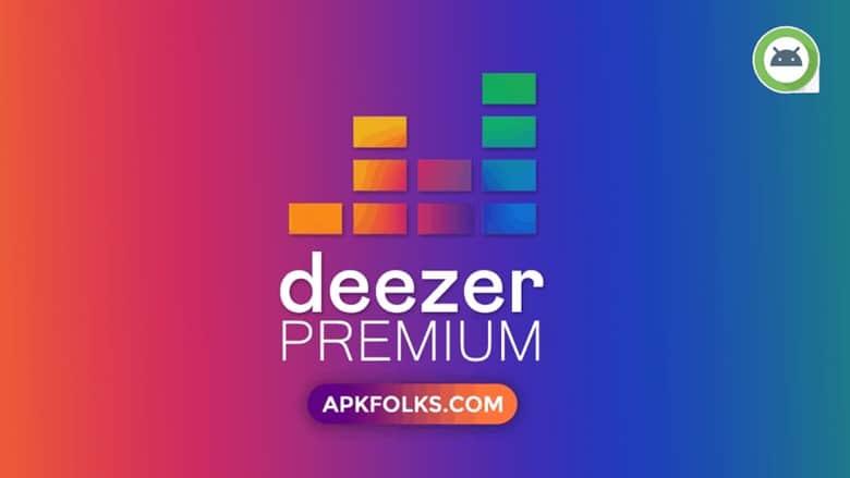 Descarga la última versión de Deezer Premium MOD APK