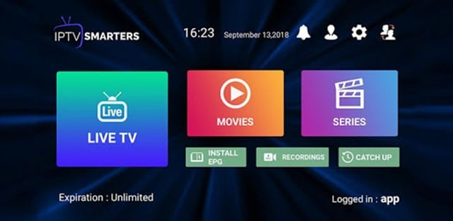 Descargar IPTV Smarters Pro